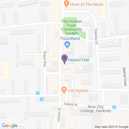Hoxton Hall Location