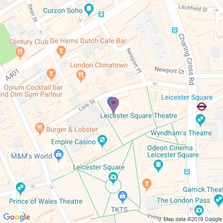 Leicester Square Theatre Location