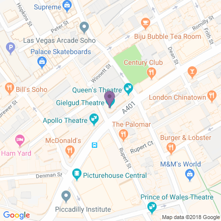 Gielgud Theatre Location