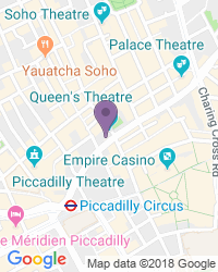 Queen's Theatre - Theatre Address