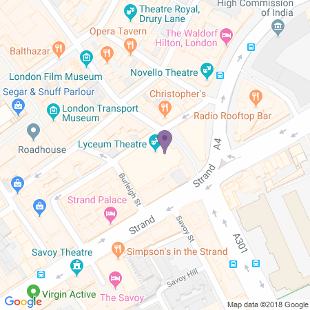 Lyceum Theatre Location