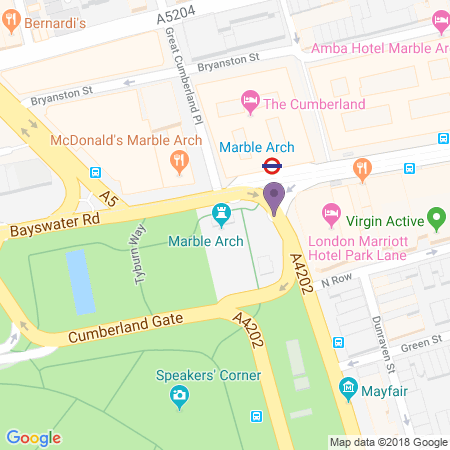 Marble Arch Theatre Location