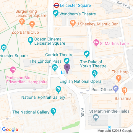 Garrick Theatre Location