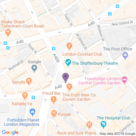 Shaftesbury Theatre Location