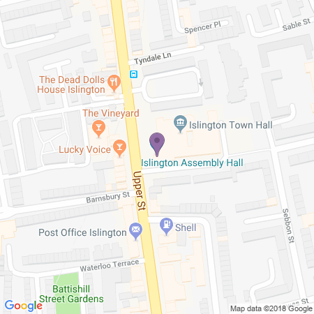 Islington Assembly Hall Location