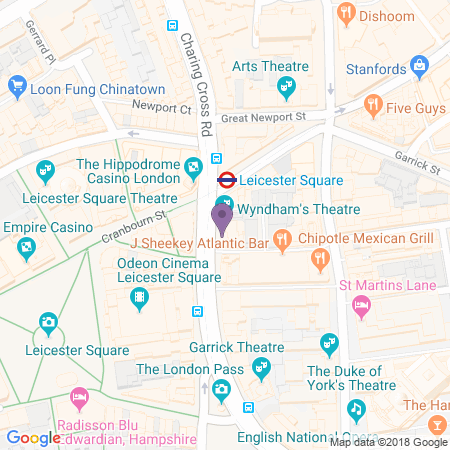 Wyndham's Theatre Location
