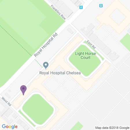 The Royal Chelsea Hospital Location