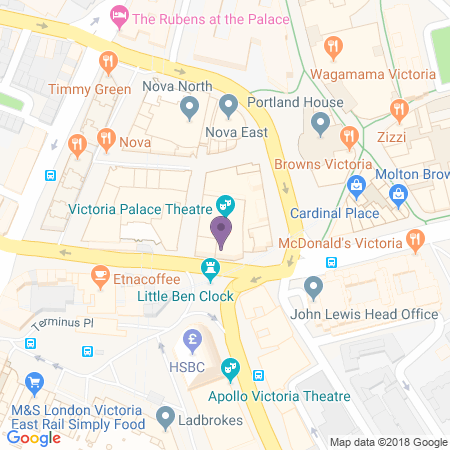 Victoria Palace Location