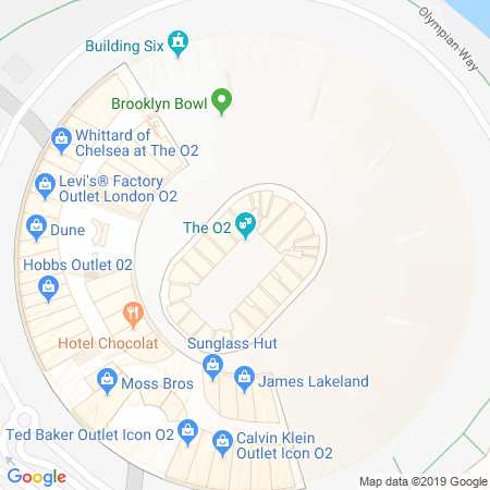 The O2 Location