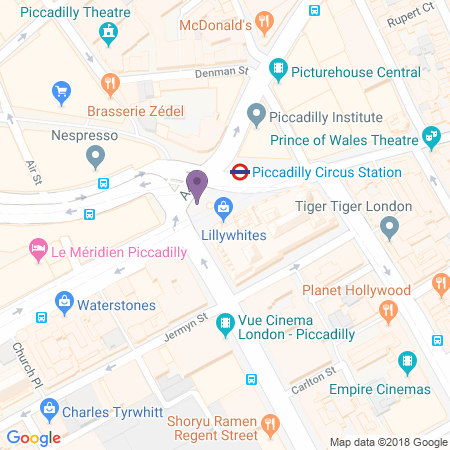 Criterion Theatre Location