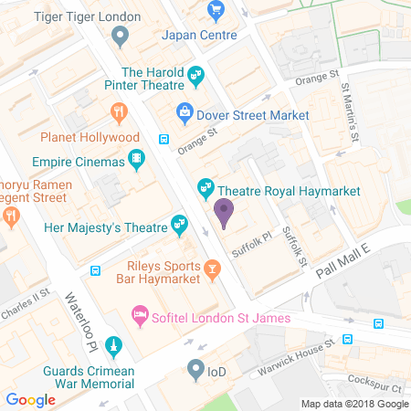 Theatre Royal Haymarket Location