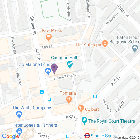 Cadogan Hall Location