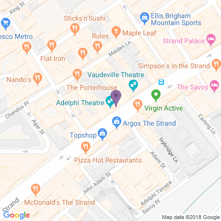 Adelphi Theatre Location