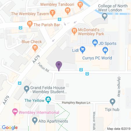 Troubadour Theatre - Wembley Location