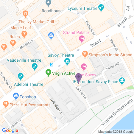 Savoy Theatre Location