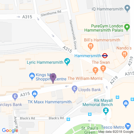 Lyric Hammersmith Location