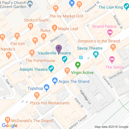 Vaudeville Theatre Location