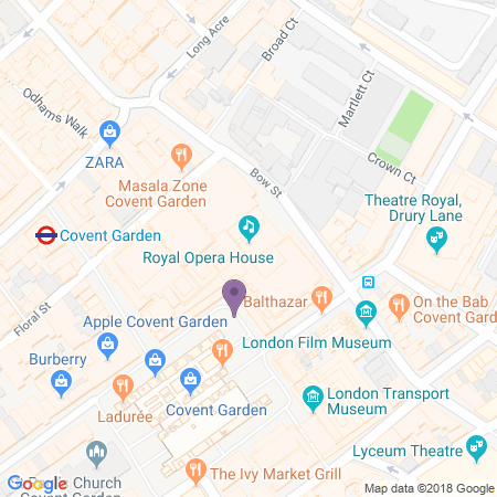 Royal Opera House Location