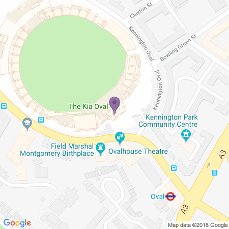 The Kia Oval Location