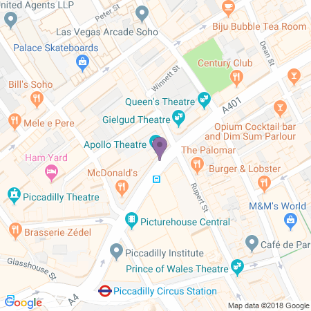 Apollo Theatre Location