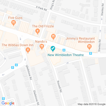 New Wimbledon Theatre Location