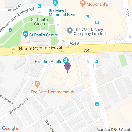 Hammersmith Apollo (Eventim) Location