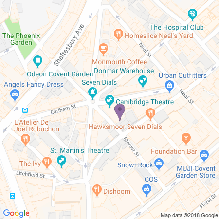 Cambridge Theatre Location