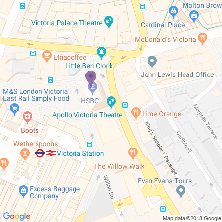 Apollo Victoria Location