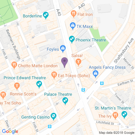 Soho Main Theatre Location