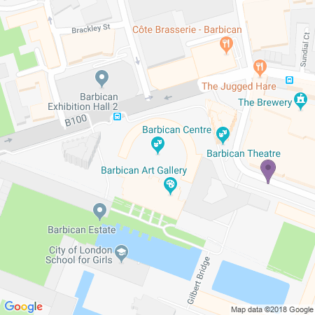 Barbican Theatre Location