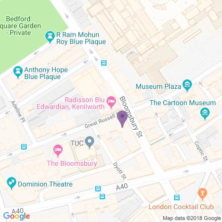 Radisson Blu Edwardian Location