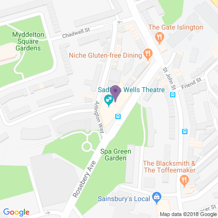 Sadlers Wells Location