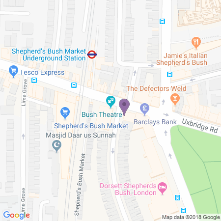Bush Theatre Location