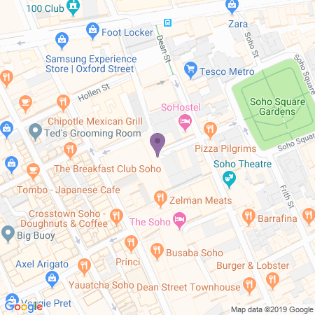 The Nadler Soho Hotel Location