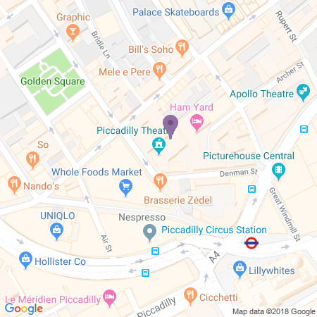 Piccadilly Theatre Location
