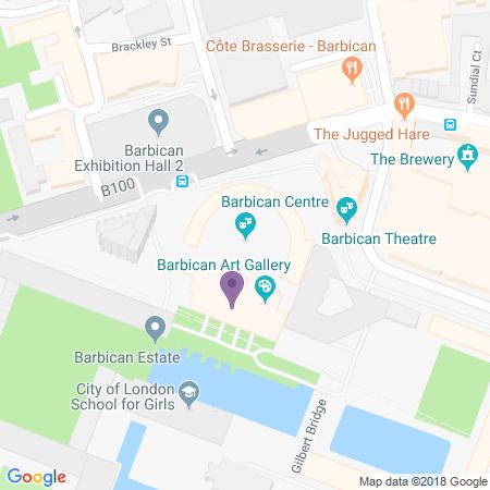 Barbican Hall Location