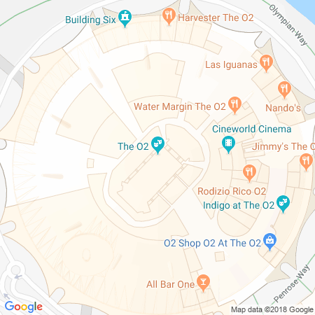 O2 Arena Location