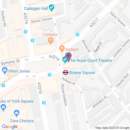 Royal Court Theatre Location
