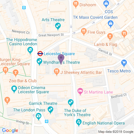 Noel Coward Theatre Location
