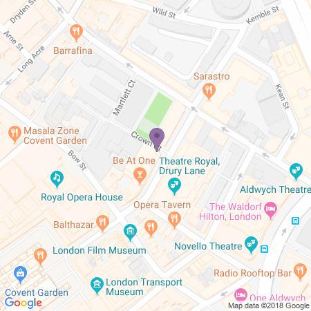 Fortune Theatre Location