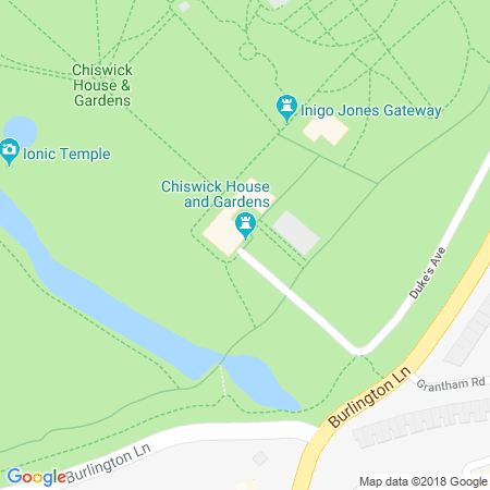 Chiswick House and Gardens Location