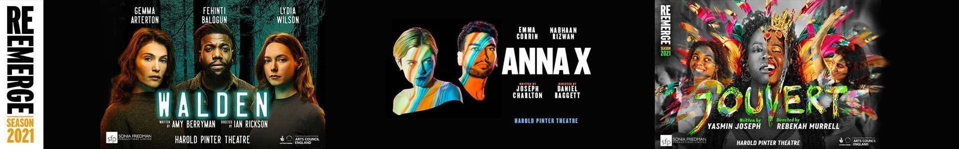 Re: Emerge Tickets - Harold Pinter Theatre
