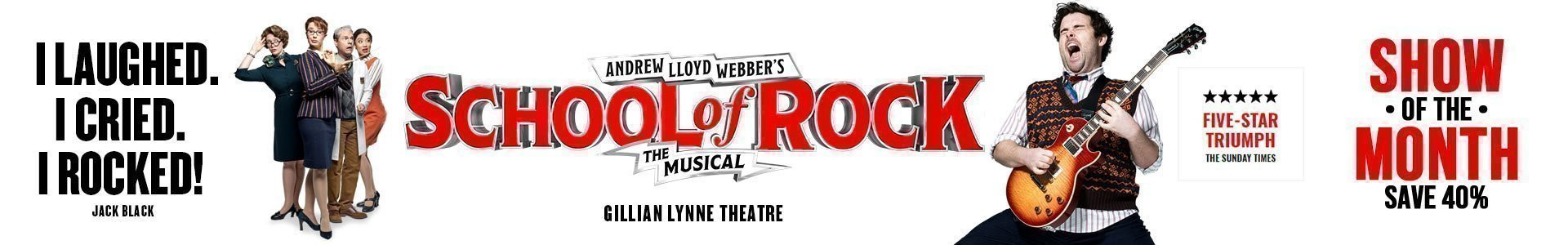 School of Rock - Show of the Month - Cheap Tickets