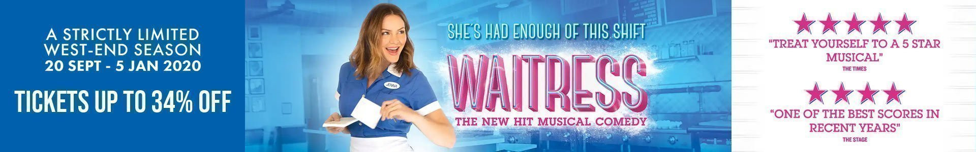 Waitress the Musical tickets