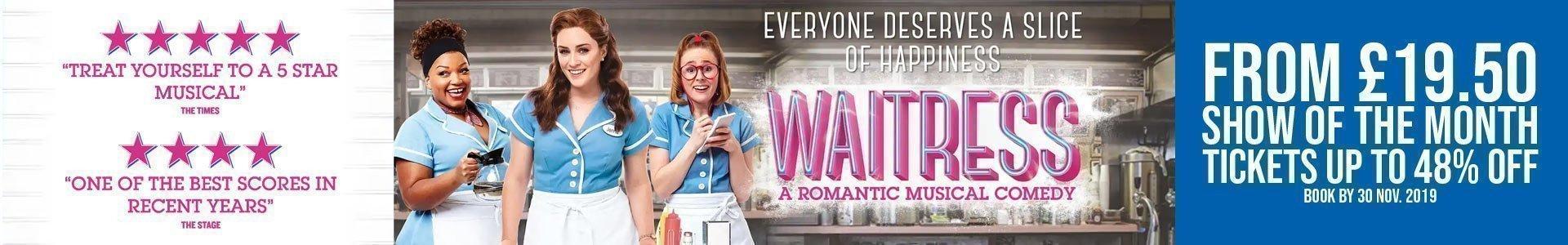 Waitress The Musical - Cheap Tickets