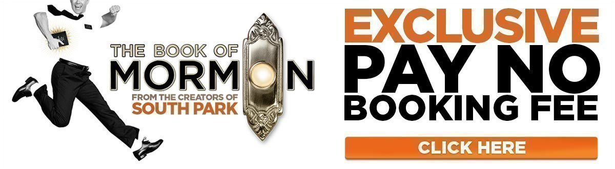 The Book of Mormon No Booking Fee
