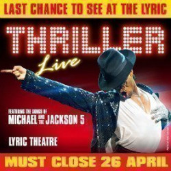 Thriller - Live tickets