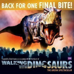 Walking with Dinosaurs - O2 Arena