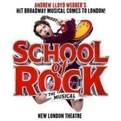 New london theatre location school of rock the musical london box office - School of rock box office ...