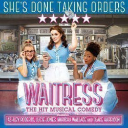 Adelphi Theatre now showing Waitress - London Box Office
